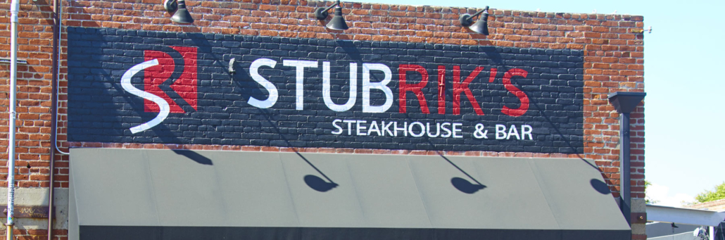 Stubrik's Outdoor Sign